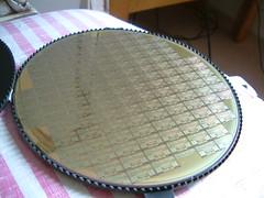 DSCF0001 (JamesIrwin) Tags: computer chip british silicon wafer transputer inmos