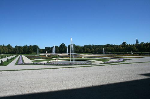 Blick in den Schloßgarten