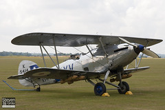 G-AENP - K5414 - 41H-81902 - Shuttleworth Collection - Hawker Hind - 110710 - Duxford - Steven Gray - IMG_5421