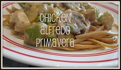 BUTTON CHICKEN ALFREDO