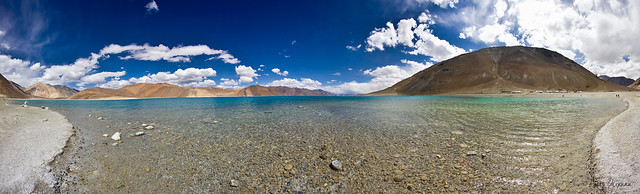 Pano of the Pangong Tso