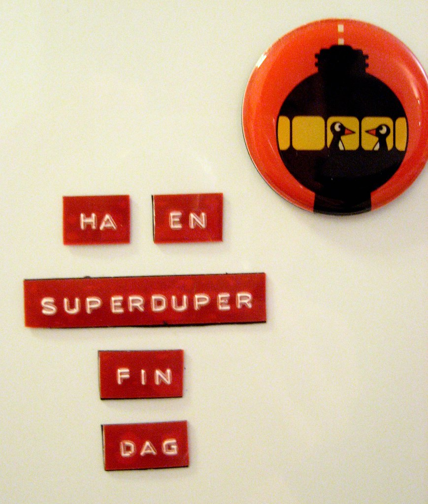 dymo fridge poetry