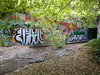Vegan Jekoh (LurkinTheCuts) Tags: santa graffiti vegan tunnel cruz ams jeko 831