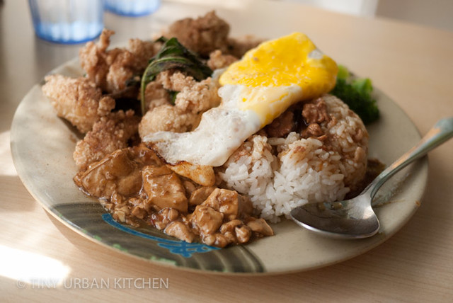 pork chop rice (paigufan)