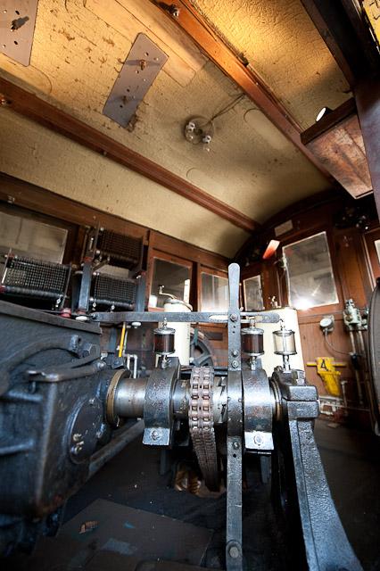 東京の交通100年博 ササラ電車