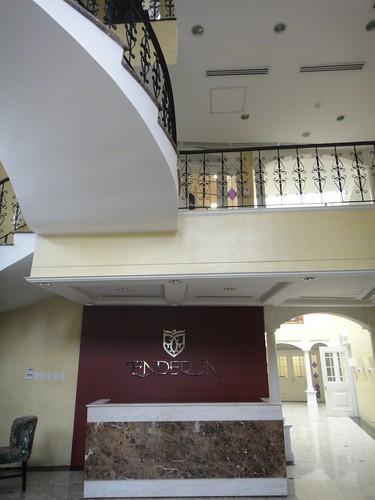 Hotel Admin lobby