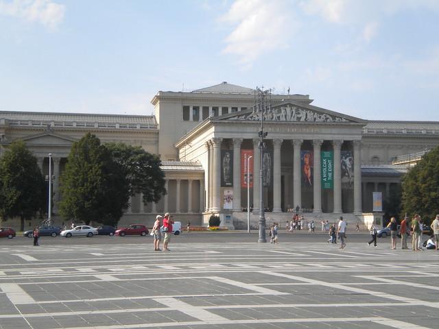 Szépművészeti Múzeum, museo de Bellas Artes en Budapest