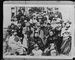 The royalty of Europe. 8: Queen Victoria 7: Kaiser Wilhelm 5: Czar Nicholas 3: King Edward VII (Boston Public Library) Tags: lesliejones people kaiserwilhelmii kaiser kaiserinfriedrich