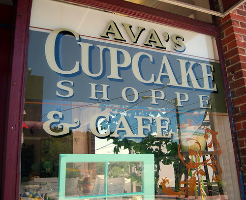 Front of Store of Ava's Cupcakes