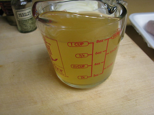 broth measured