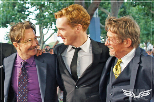 The Establishing Shot : Tinker, Tailor, Soldier, Spy Premiere - Gary Oldman, Benedict Cumberbatch, Mr. John Hurt by Craig Grobler