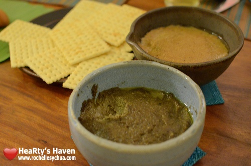 Pepita's Kitchen Pinoy Pate and Caviar