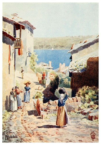 22-Rivadeo-Northern Spain painted and described-1906- Edgar Thomas Ainger