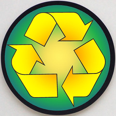Modern recycling Triskel (Marco Braun) Tags: trois circle three symbol icon environment recycle recycling signe radial triskelion cercle drei zeichen umwelt kreis triskell triskel environement kreislauf dri