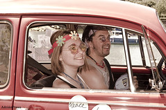 Back to the sixties ( Adrin Presa) Tags: en hippies volkswagen el escarabajo kfer tiempo sesenta vocho atrs
