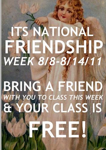 friendship week by DrabSparrow
