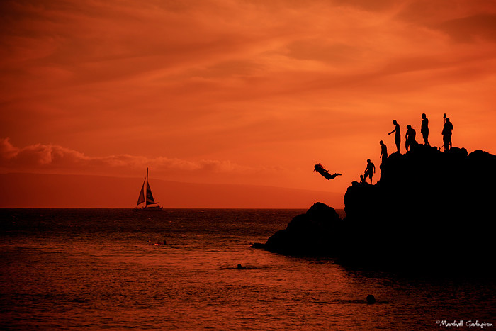 Sunset Leap