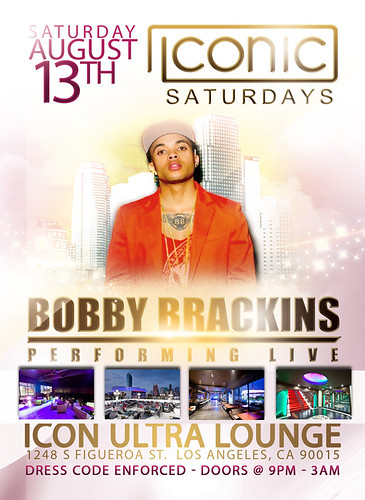Iconic Saturdays with Bobby Brackins @ Icon La Ultra Lounge 8-13-1 by VVKPhoto