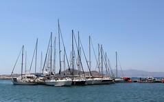 Naxos, Greece (Tilemahos Efthimiadis) Tags: sailboat island marine ship hellas greece sailboats 50views naxos ελλάδα νησί platinumheartaward νάξοσ σκάφοσ ιστιοφόρο address:country=greece osm:node=161673461