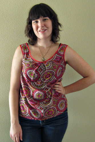 Summer Cotton/Silk Tank Top