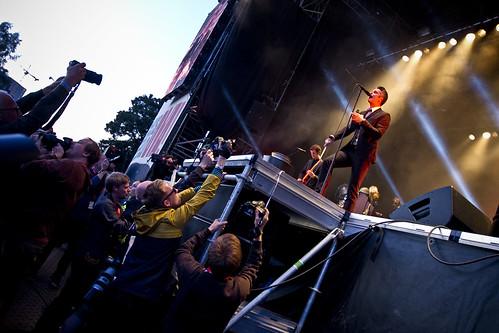 Kaizers Orchestra på Øyafestivalen 2011