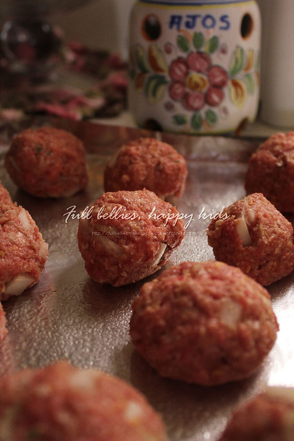 Beer Braised Meatballs