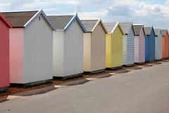 Beach huts (Mrs S.A) Tags: summer holiday seaside beachhuts felixstowe gamewinner nikond40 15challengeswinner friendlychallenges thechallengefactory