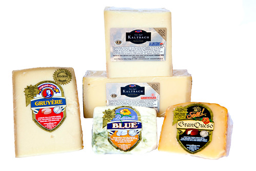 A family of Emmi Roth cheeses