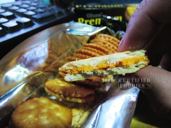 A closer look at the Hansel Premium Cheese Sandwich - CertifiedFoodies.com