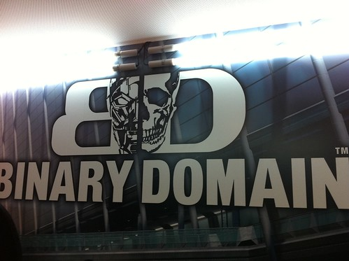 Binary Domain Gamescom 2011