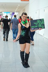Gamescom 2011 (Sergey Galyonkin) Tags: girls game girl booth germany expo cologne games gaming event babes gamescom