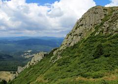 sziklafal / rocky wall (debreczeniemoke) Tags: summer mountains forest landscape view land transylvania transilvania táj erdély nyár rockywall erdő hegyek juniperuscommunis commonjuniper kilátás sziklafal szekatura canonpowershotsx20is közönségesboróka secătura