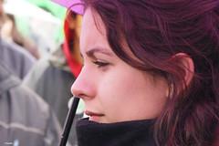 Chilean student leader Camila Vallejo.  Image from Alejandro Bonilla's photostream
