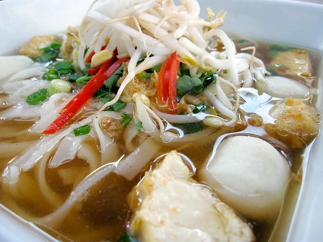 Thai soup noodles