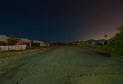 The World We Leave Behind (Noel Kerns) Tags: california abandoned night george force desert air mojave base victorville