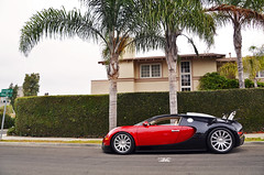 Bugatti Photoshoot (SpencerBerke) Tags: ocean red sea black west car la big san wind sweet top side wing fast diego gear super an motors sd socal 164 bugatti luxury jolla symbolic intake veyron windo windan bugattis 253mph veyrons
