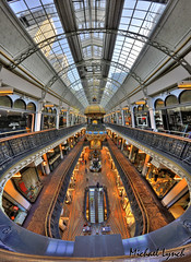 Queen Victoria Building (mickyg9) Tags: hdr queenvictoriabuilding verticalpano