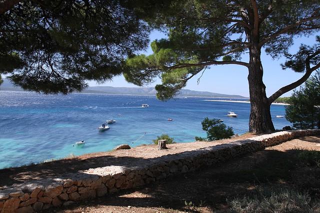 Bol, island Brac - blue...