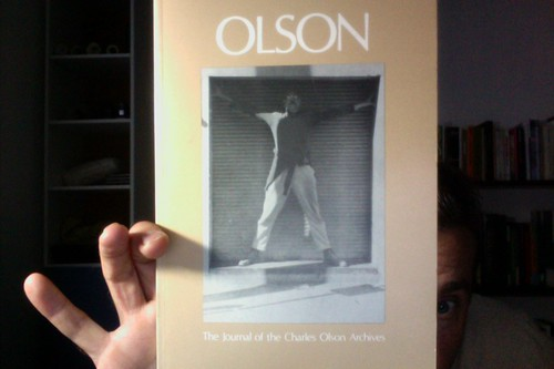 Olson: The Journal of the Charles Olson Archives, Number 9 by Michael_Kelleher