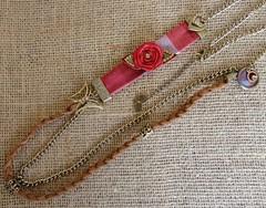 Colar Aurora (Cris Art´s2010) Tags: colar colares colarcomflor colarartesanal colardefuxico