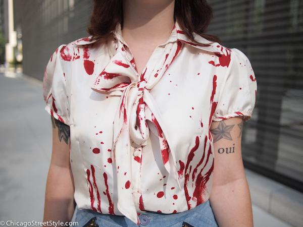 nicole blouse