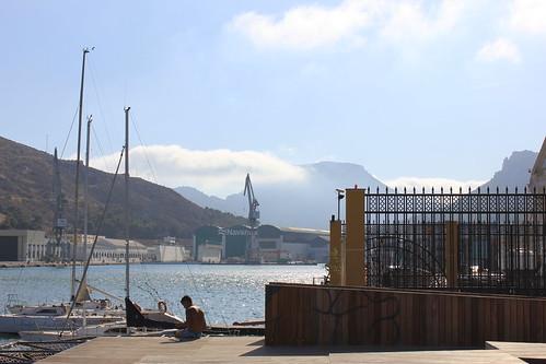estampa portuaria