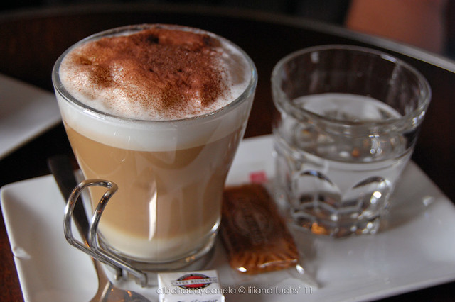 Capuccino  at Montmatre