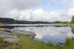 Rotmell loch (cal 311) Tags: sky clouds scotland nikon north perthshire hills loch dunkeld