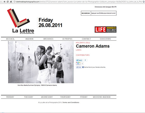 Cameron Adams  La Lettre de la Photographie - Google Chrome 8262011 75319 AM.bmp