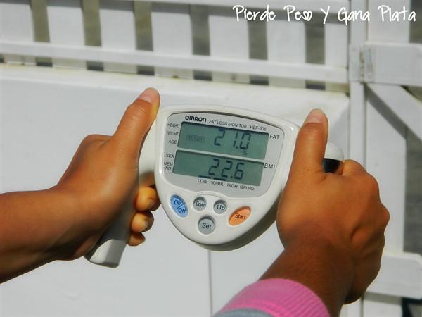 Mitos sobre la grasa, medidor de grasa