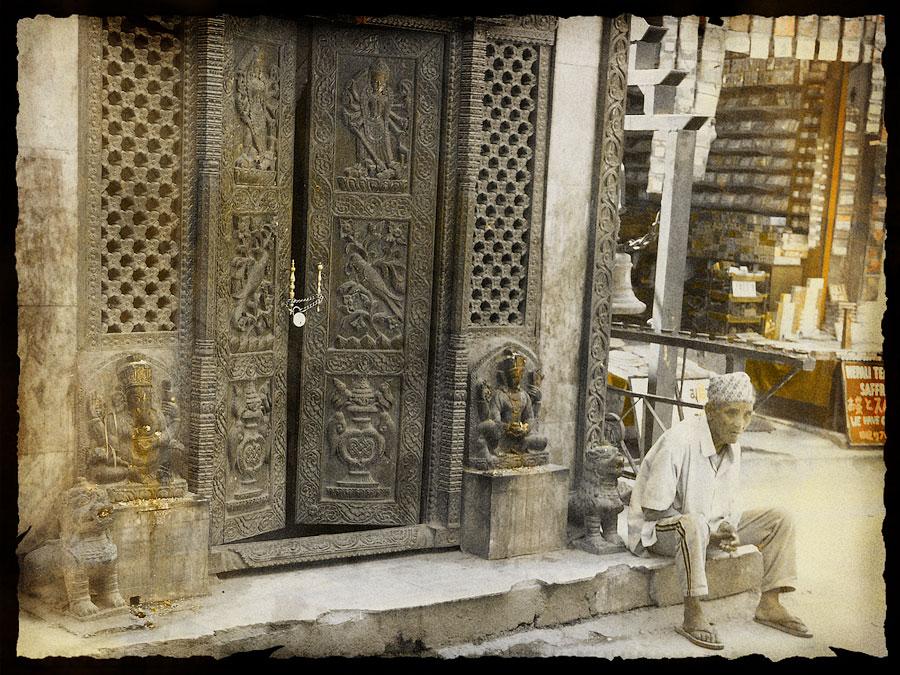 Где то в Тамеле. Катманду © Kartzon Dream - авторские путешествия