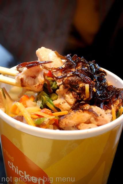 Itsu, Oxford St - Grilled Chicken Udon