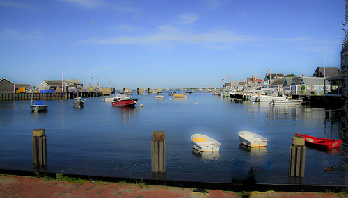 Idyllic Nantucket Harbour-7373 by Against The Wind Images