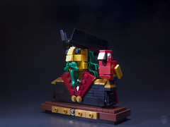 Greenbeard (porschecm2) Tags: lego parrot bust pirate captain greenbeard